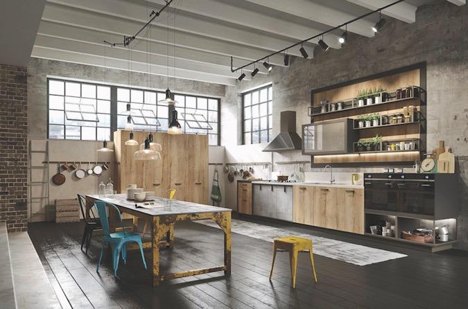 Moderne Keuken Restaurant : Blu Wom MILANO A SNAIDERO LA SPECIAL ...