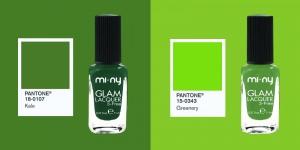 smalti pantone green