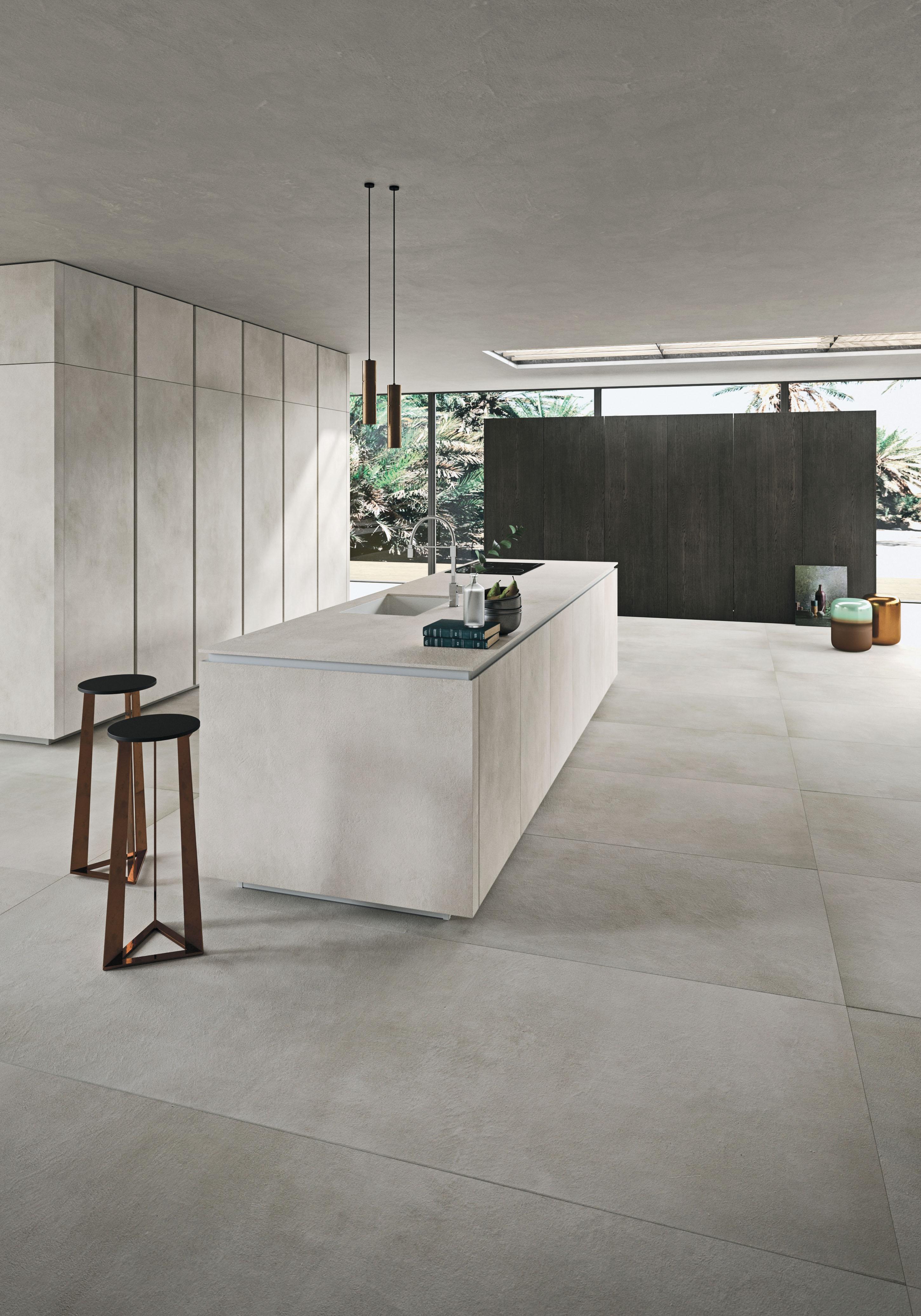 Blu Wom MILANO | #Snaidero#cucine#way#materia#design#ceramica#laminam