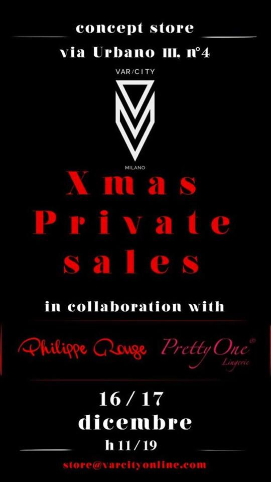 Xmas Private Sales