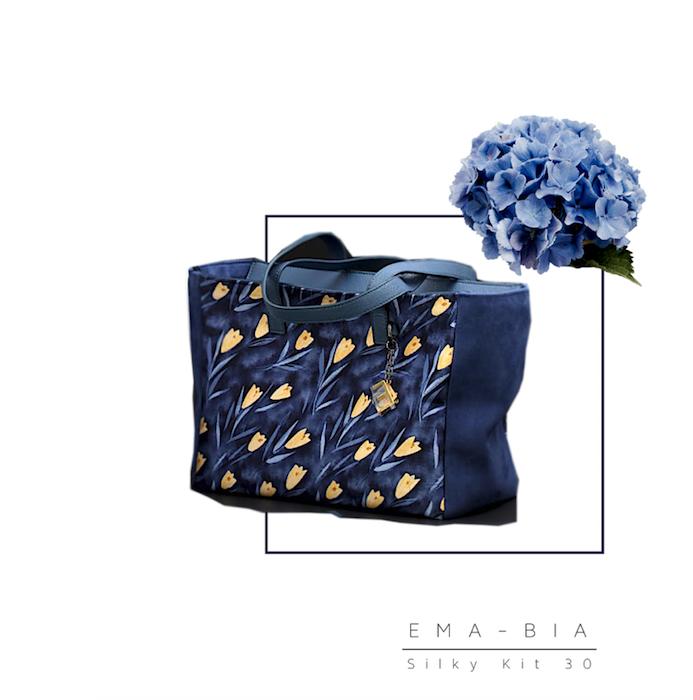 Silky30-blu-fiori