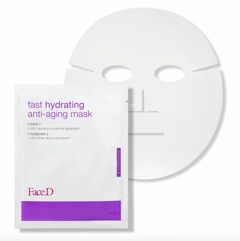 Face D_Fast Hydrating Anti-Aging Mask_FaceD