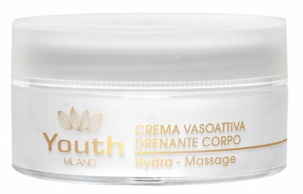 Youth Milano_Crema Vasoattiva Drenante Corpo Hydra-Massage