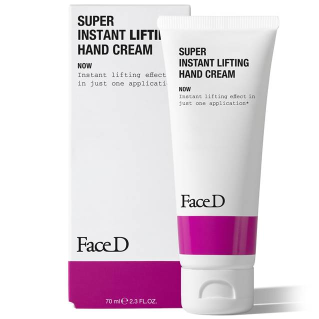 faced super instant lifting hand cream