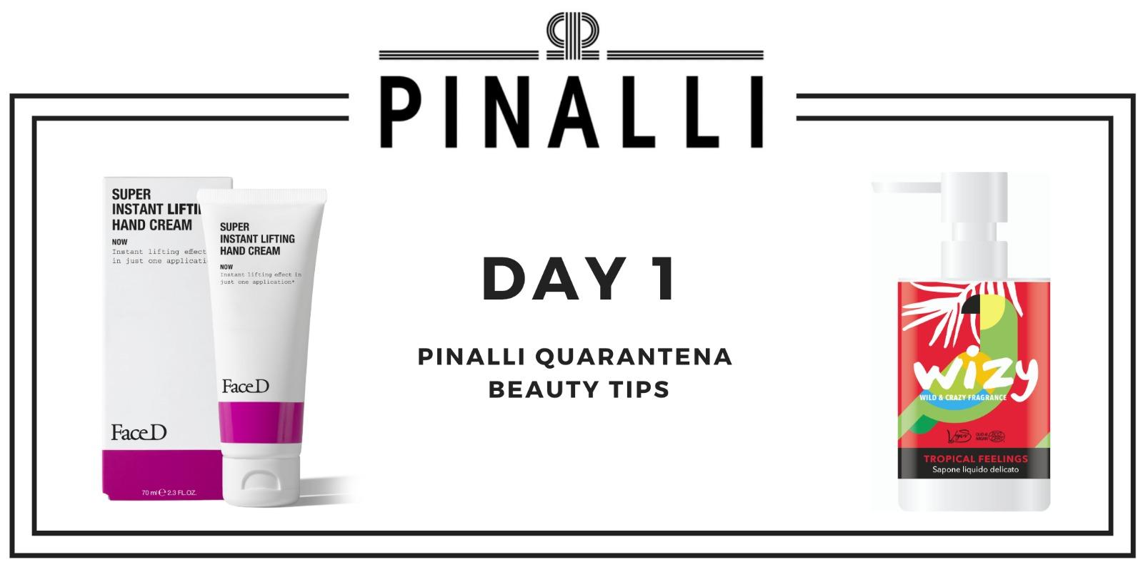 quarantena beauty tips day 1