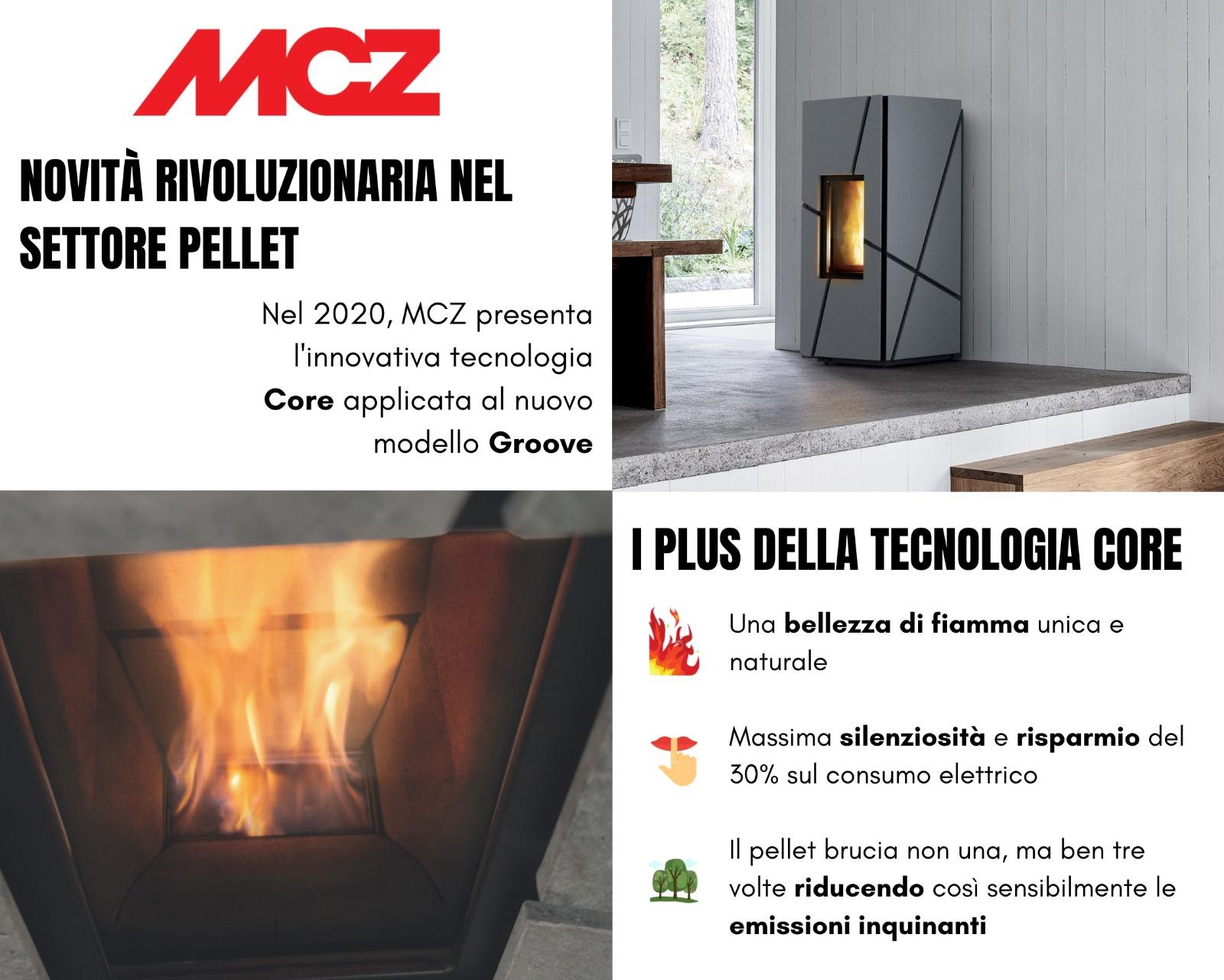 MCZ tecnologia core