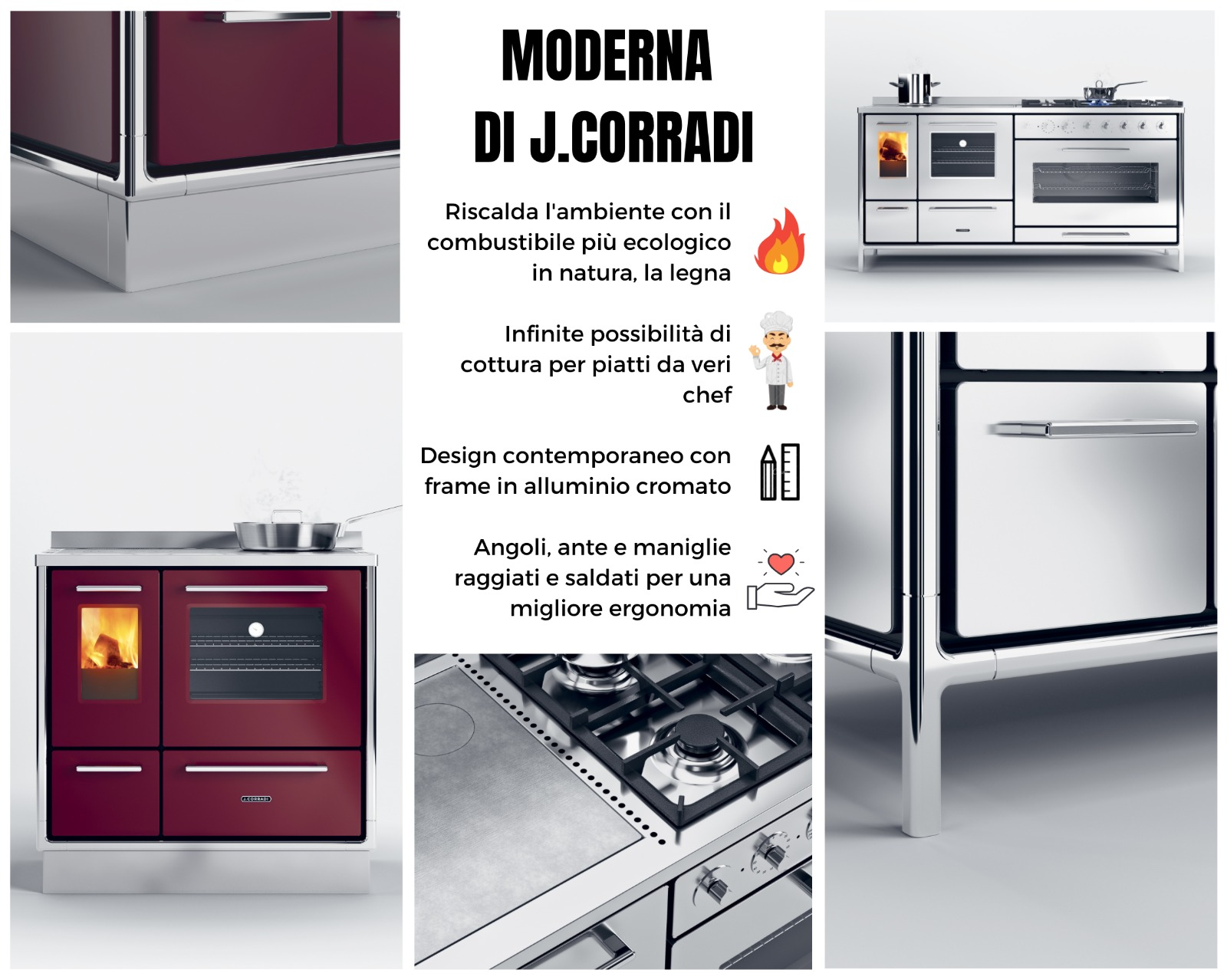 cucina j corradi moderna