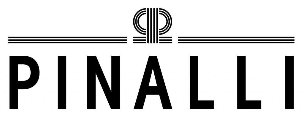 logo pinalli bianco nero