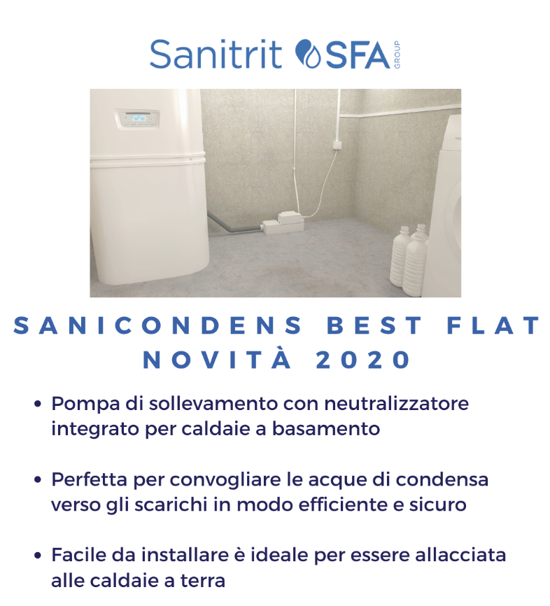 sanicondens best flat