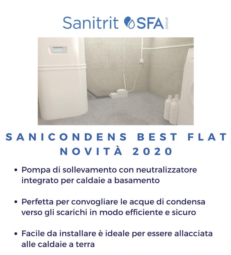 sanicondens best flat