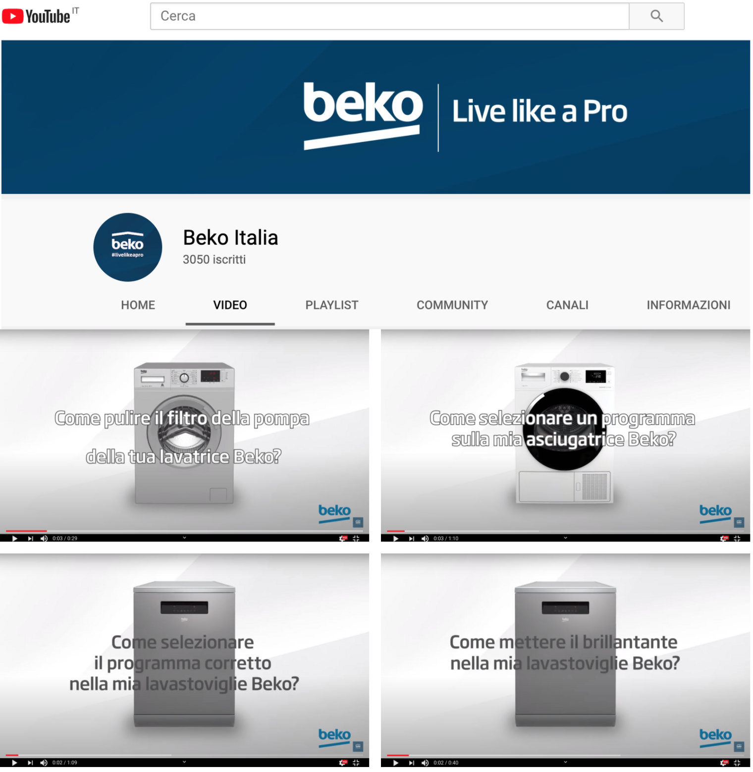 beko video tutorial