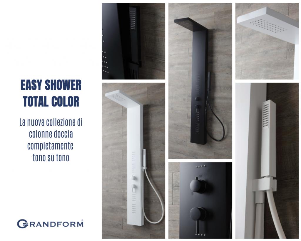 easy shower total color grandform