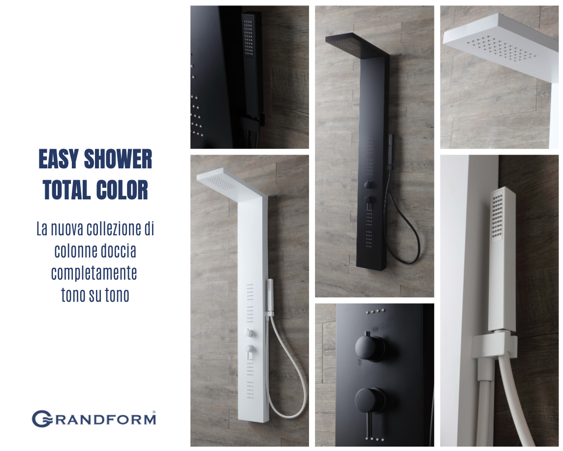 easy shower total color grandform