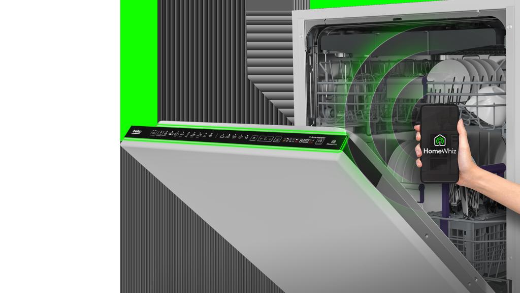 Beko 2020 HomeWhiz Dishwasher Remote Control Feature Visual Preview Master