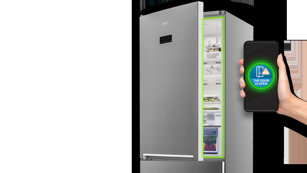 Beko 2020 HomeWhiz Refrigerator Open Door Notification Feature Visual 90x90 mm Preview Master