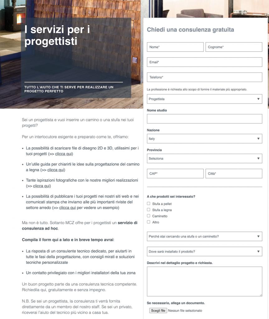 MCZ_progetti