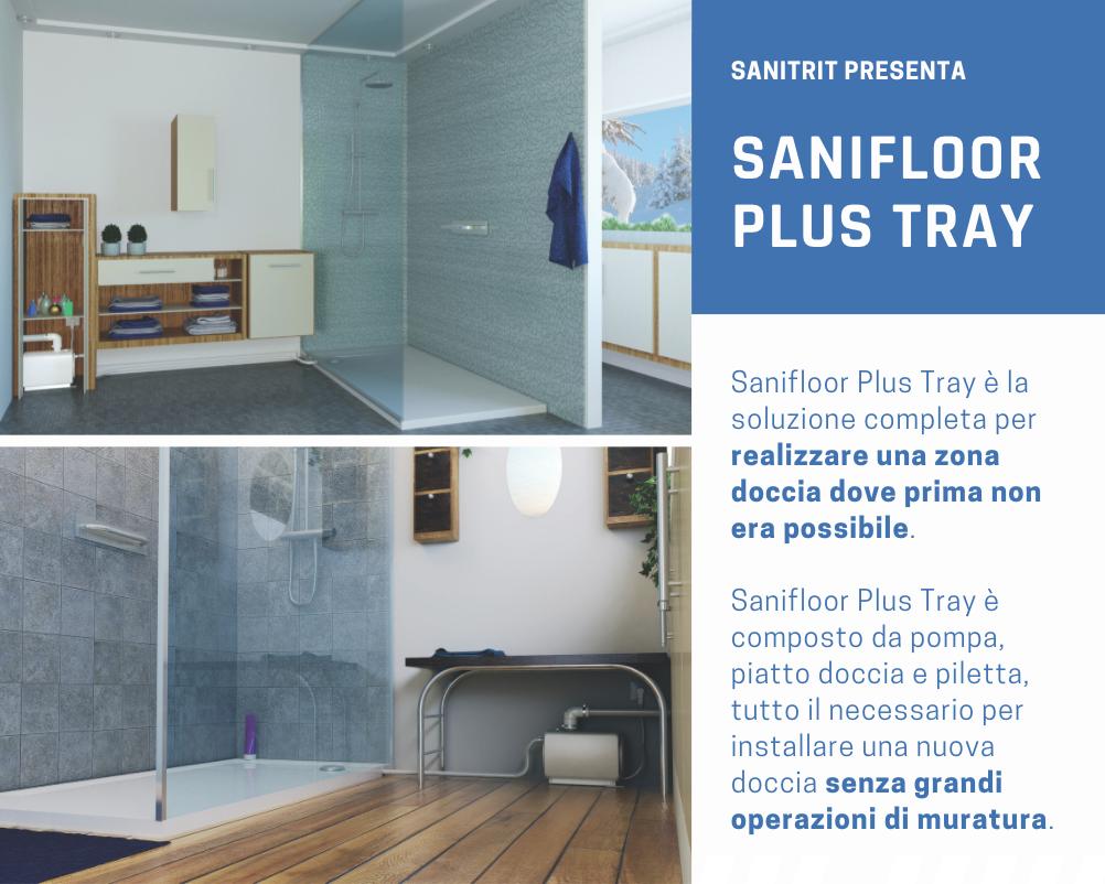 Sanifloor Plus Tray_Sanitrit